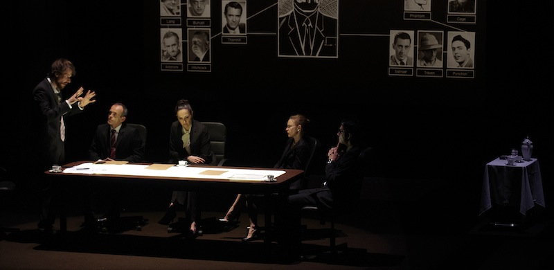 Théâtre: politique fiction avec «George Kaplan»