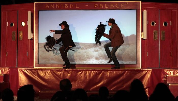 Dieppe: Annibal et ses éléphants font leur cinéma forain