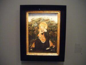 La Vierge de l'Humilité, Giovani di Paolo
