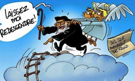 Expo à Esteville et Rouen : l'abbé Pierre et les caricatures