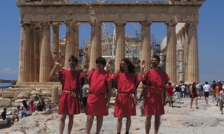 Les Agamemnonz : deux albums et une tournée