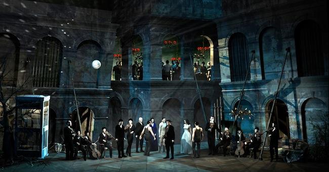 Opéra à Rouen: «Don Giovanni» se prépare
