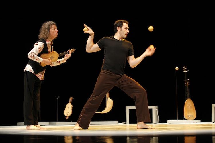 Rouen: jonglerie musicale à la chapelle Corneille
