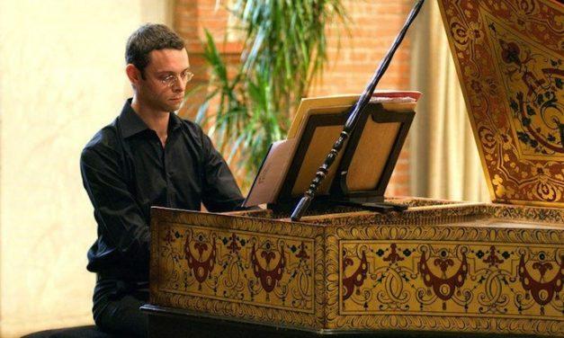Concert à la chapelle Corneille : Benjamin Alard revient à Bach