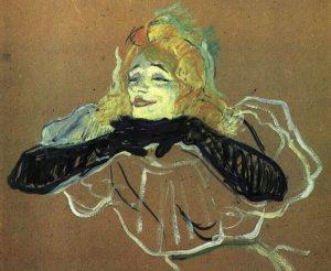 Yvette Guilbert par Toulouse-Lautrec