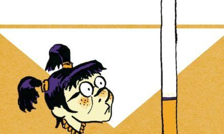 «La Petite Fille et la cigarette» en bande dessinée