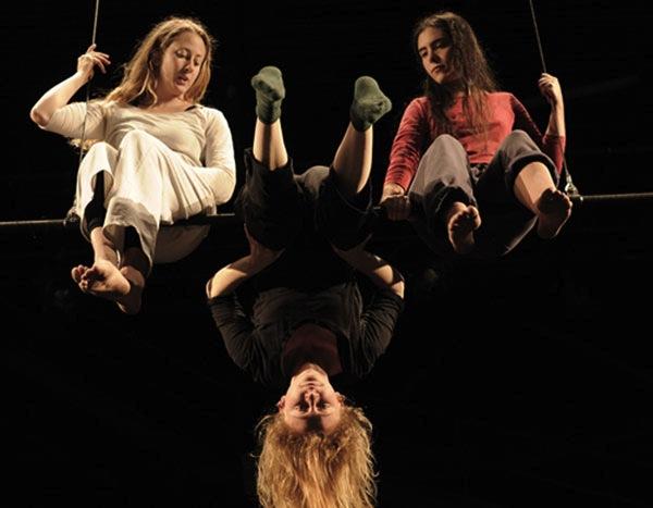 Rhizome à Elbeuf: un ballet à 5 mètres du sol