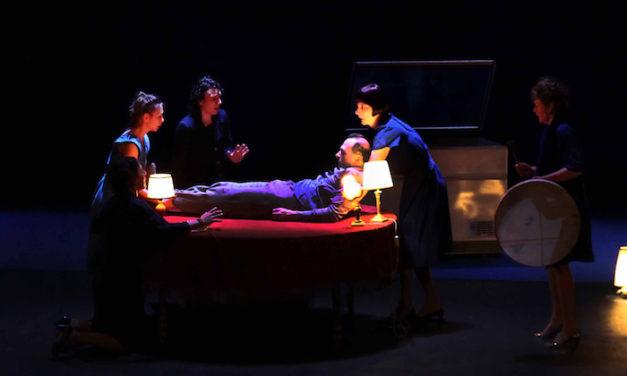 Théâtre à DSN: rire de la mort