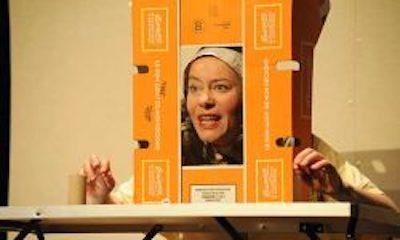 Théâtre : Isabelle Seront met les Pieds dans le plat