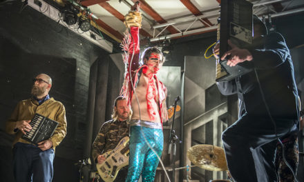Concert au 106 : The Moonlandingz, sauvage et flamboyant