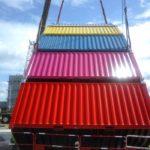 Un jeu de construction de containers