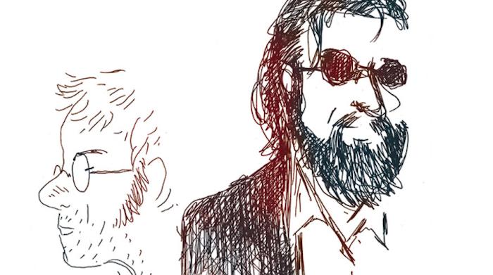 Alfred – JP Nataf : l'un dessine, l'autre chante