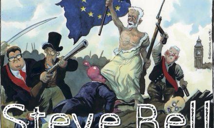 Steve Bell : «Emmanuel Macron me rappelle Tony Blair»