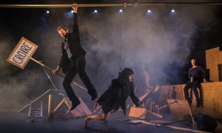 Cirque à Elbeuf : en suspension avec Yoann Bourgeois