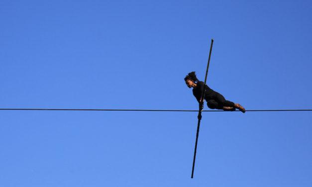 Cirque à Maromme : une «Traversée» à 20 mètres du sol