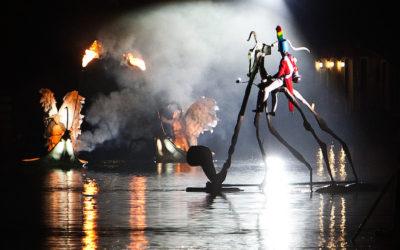 Les Embarqués à Léry-Poses : de l'eau et des lumières avec Ilotopie