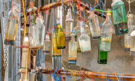 Expo au Tetris : la musique mise en bouteille