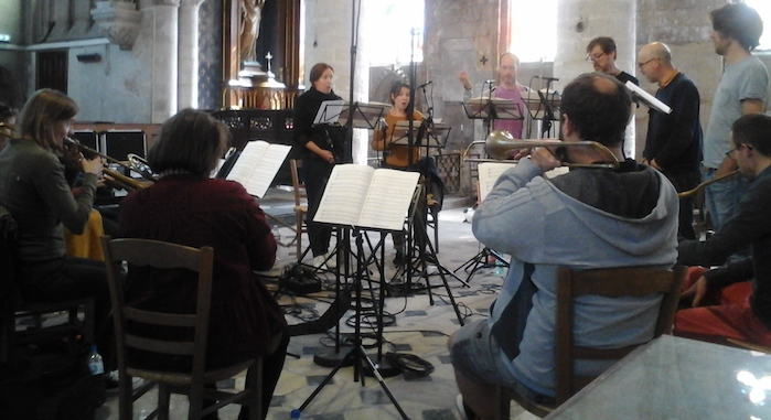 Les Meslanges enregistrent des pièces inédites de Titelouze