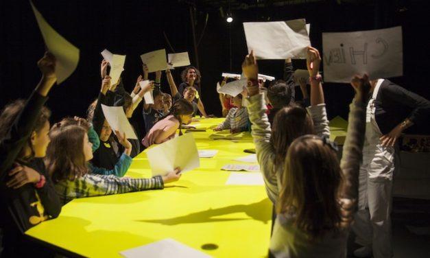 Théâtre au centre Voltaire : ce sont les enfants, les héros de demain