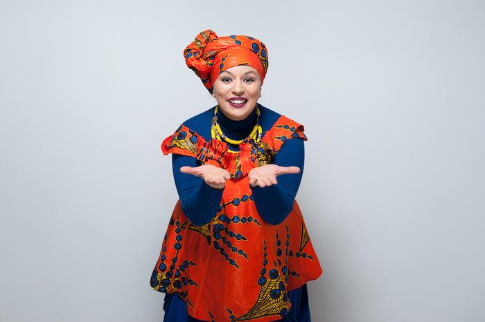 La vie en couleurs de Samia Orosemane à L'Étincelle