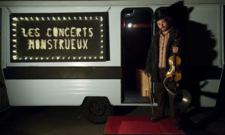 Les concerts monstrueux de Frédéric Jouhannet