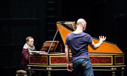 Alban Richard improvise des « Suites dansées »