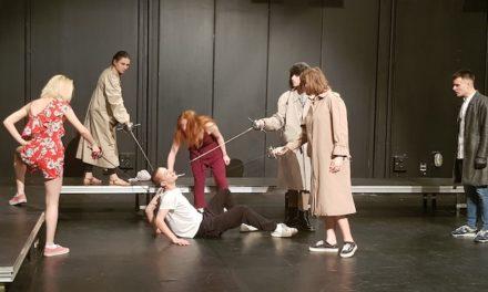 Scènes de crime avec les élèves du conservatoire de Rouen