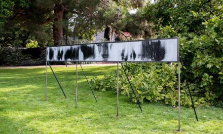 Coline Jourdan expose au jardin des plantes
