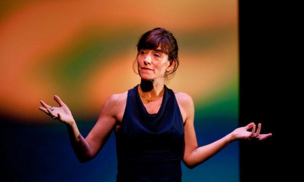 Romane Bohringer joue «L'Occupation» à Dieppe