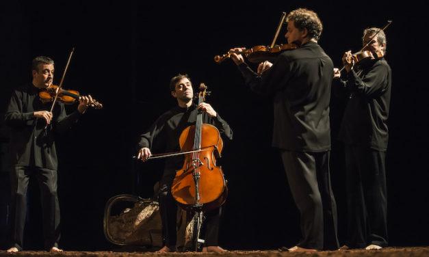 Le Quatuor Debussy, les pieds dans la terre