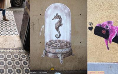 # 18 / Les street artistes sont prêts à investir la rue