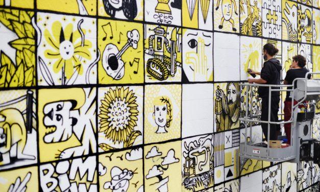 Neuf nouvelles fresques avec Rouen impressionnée
