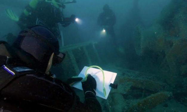 """Une plongée dans les fonds marins avec """"Les inoxydables"""""""