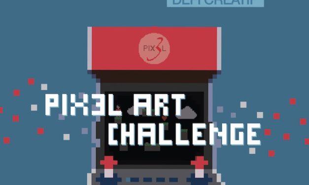 Pix3l lance son challenge artistique