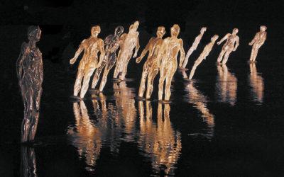 101 silhouettes lumineuses sur la Seine