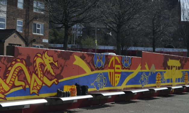 LizPonio et Fkit ! signent une fresque à Liverpool
