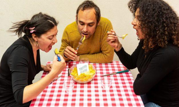 Les lapins du Toutito Teatro inventent une nouvelle vie